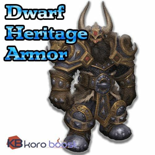 Dwarf Heritage Armor Boost