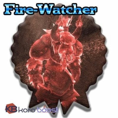 Buy Fire-Watcher Achievement Boost cheap boost service or carry run
