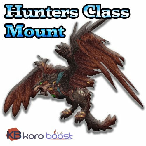 Class Mount - Hunter, Legionfall campaign