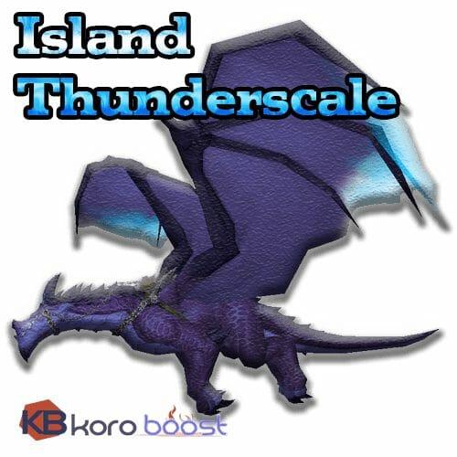 Island Thunderscale Mount Boost