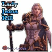 Lady Jaina Proudmoore Kill Boost (Normal/Heroic/Mythic)