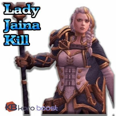 Buy Lady Jaina Proudmoore Kill Boost (Normal/Heroic/Mythic) cheap boost service or carry run