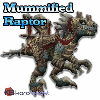 Mummified Raptor Skull Mount Boost