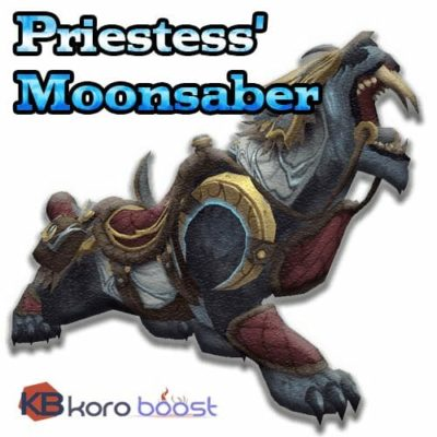 Buy Priestess' Moonsaber Mount cheap boost service or carry run