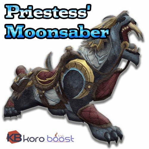 Priestess' Moonsaber Mount