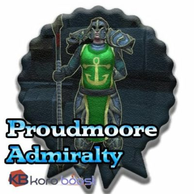 Buy Proudmoore Admiralty Reputation Boost cheap boost service or carry run