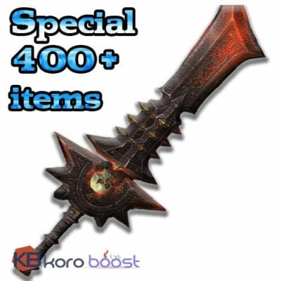 Buy Special 400+ items from M10+ cheap boost service or carry run
