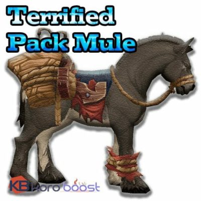 Terrified Pack Mule