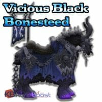 Vicious Black Bonesteed