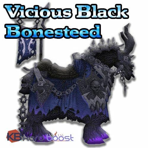 Vicious Black Bonesteed