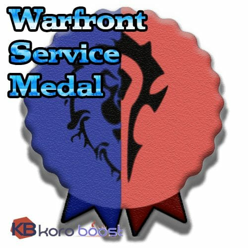 Warfront Service Medal Boost