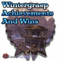 Wintergrasp Achievements And Wins