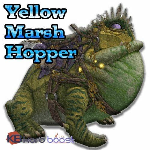 Yellow Marsh Hopper Mount