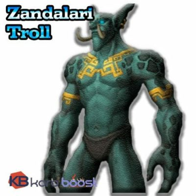 Buy Zandalari Troll Allied Race Unlock - BFA allied race - available now cheap boost service or carry run
