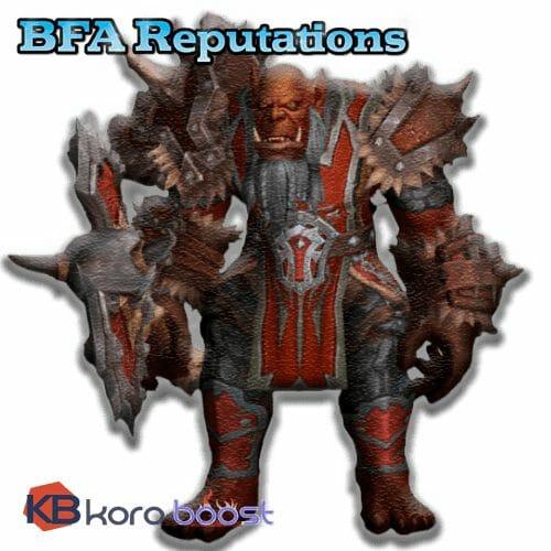 Battle for Azeroth (BfA) Reputations