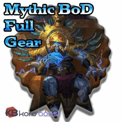 Buy Battle of Dazar'alor Mythic Full Gear Boost Carry cheap boost service or carry run