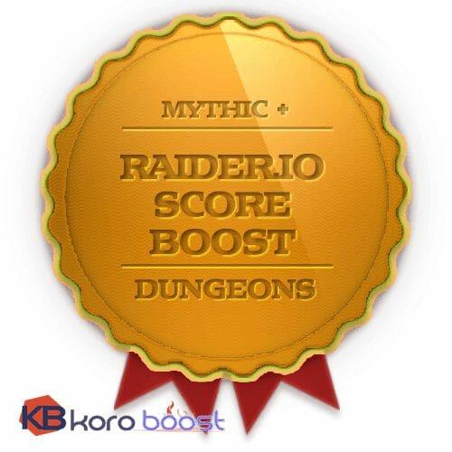 Buy M+ Score, Raider Io score, RIO score