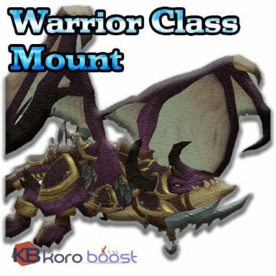 Class Mount - Warrior, Legionfall campaign