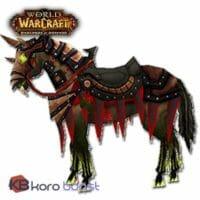 Fiery Warhorses Reins