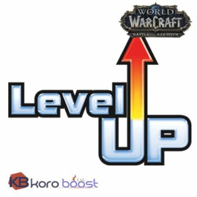Buy Battle for Azeroth (BfA) Leveling 110 - 120 Level Boost Piloted or Self Play cheap boost service or carry run
