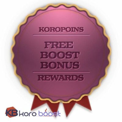 Free BoD normal 9/9 run reward