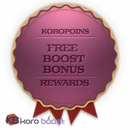 Free BoD normal 9/9 run reward