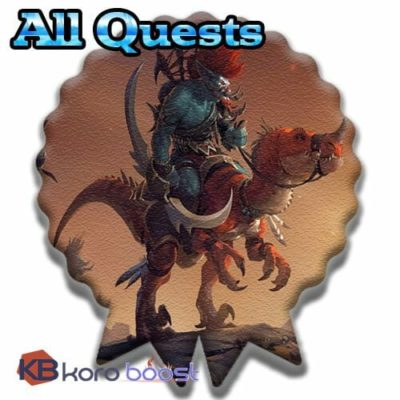 Buy Whole Full Quests Achievements Boost cheap boost service or carry run