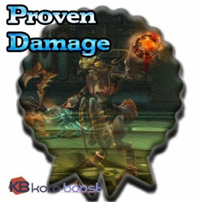 Proving Yourself: Endless Damage Achievement Boost
