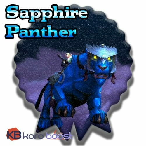 Sapphire Panther