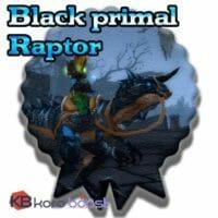 Black Primal Raptor