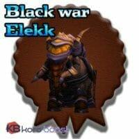 Black War Elekk