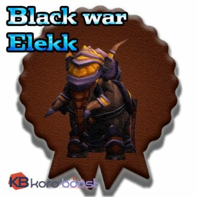 Buy Black War Elekk cheap boost service or carry run