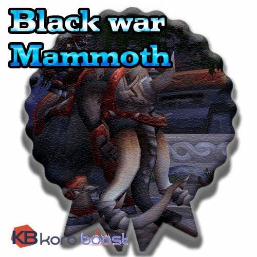 Black War Mammoth