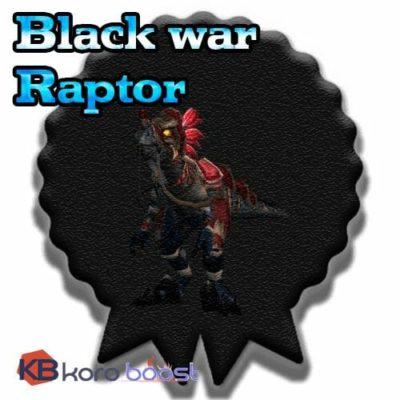 Buy Black War Raptor cheap boost service or carry run