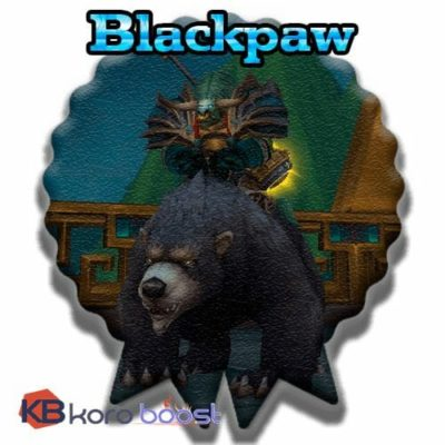 Buy Blackpaw cheap boost service or carry run
