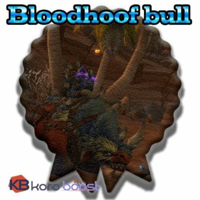 Buy Bloodhoof Bull cheap boost service or carry run