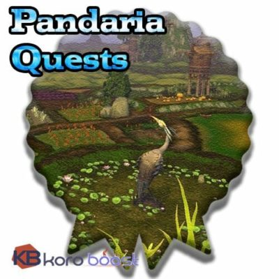 Buy Pandaria Quests  Achievements Boost cheap boost service or carry run