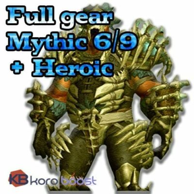 Buy Mixed Battle of Dazar'alor Mythic + Heroic Full Gear Boost Carry cheap boost service or carry run