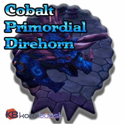 Buy Cobalt Primordial Direhorn cheap boost service or carry run