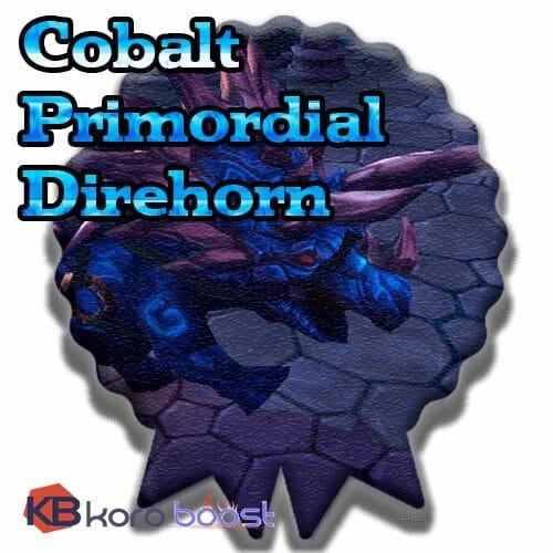 Cobalt Primordial Direhorn