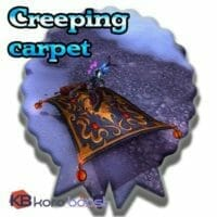 Creeping carpet