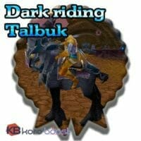 Dark Riding Talbuk