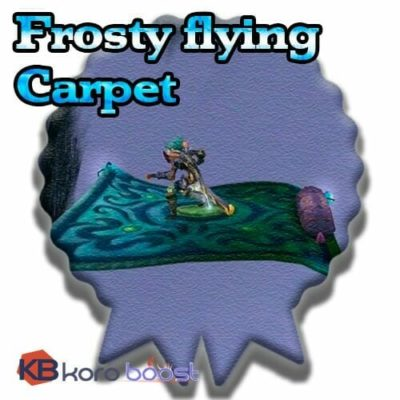 Buy Frosty Flying Carpet cheap boost service or carry run