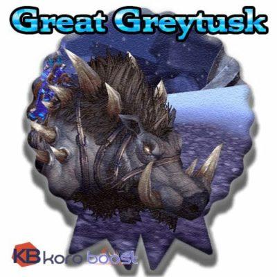 Buy Great Greytusk cheap boost service or carry run