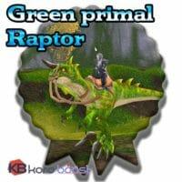 Green Primal Raptor