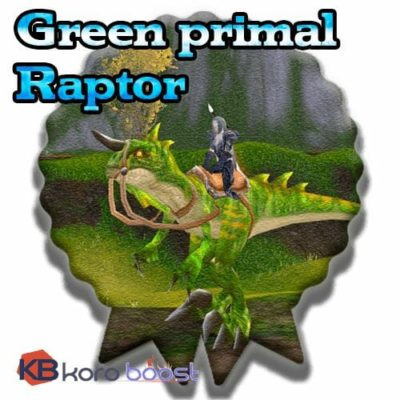 Buy Green Primal Raptor cheap boost service or carry run