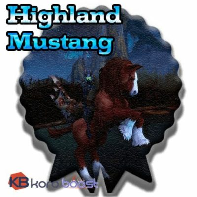Buy Highland mustang cheap boost service or carry run