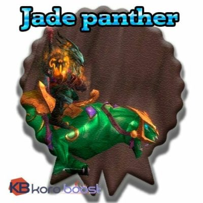 Buy Jade Panther cheap boost service or carry run