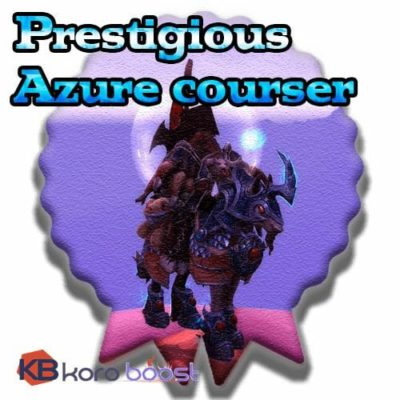 Buy Prestigious Azure Courser cheap boost service or carry run
