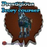 Prestigious Ivory Courser